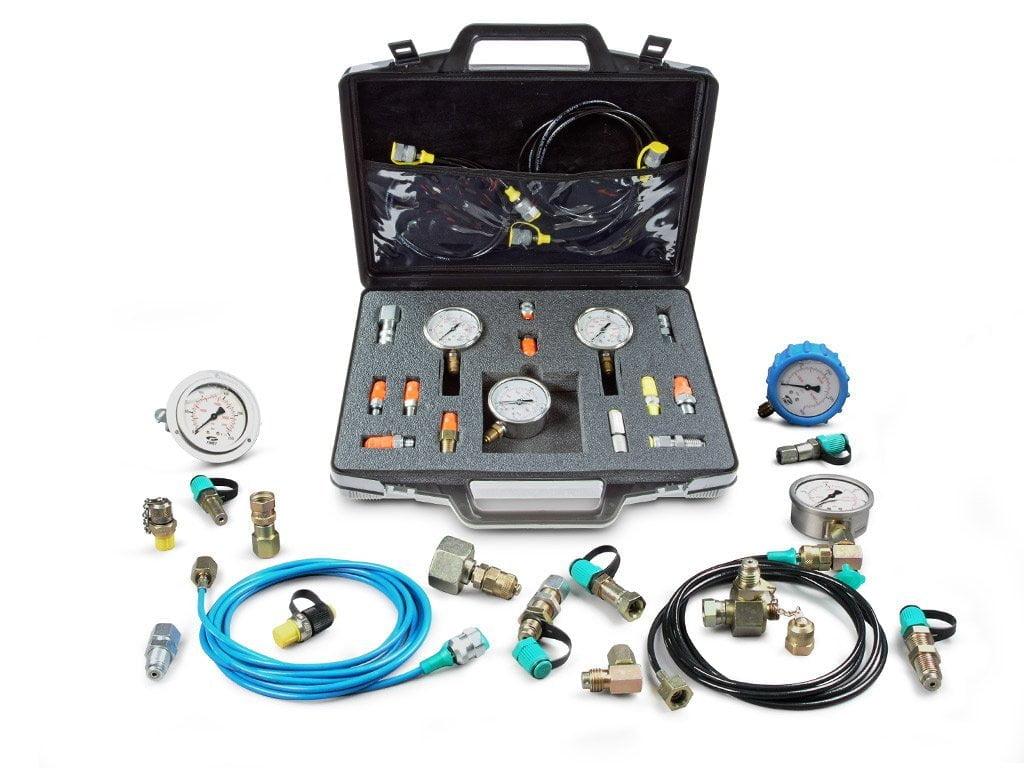 System pomiarowy ciśnienia statycznego, dynamicznego i próżni w instalacjach hydraulicznych i pneumatycznych.