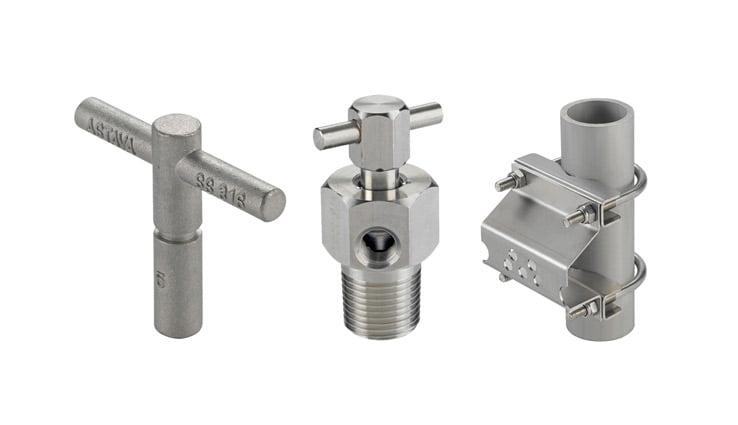 Комплектуючі для блоків клапанів