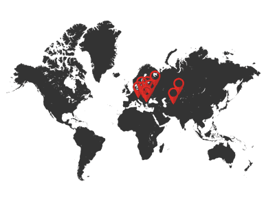 branches in Poland and abroad