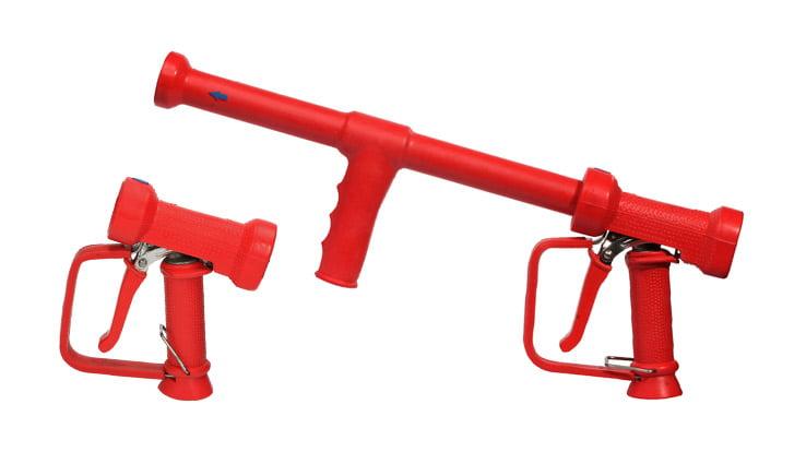Пістолети для гарячої води - ізольовані