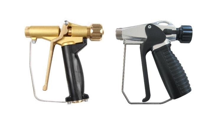 Пістолети для води та охолодження для верстатів з ЧПУ