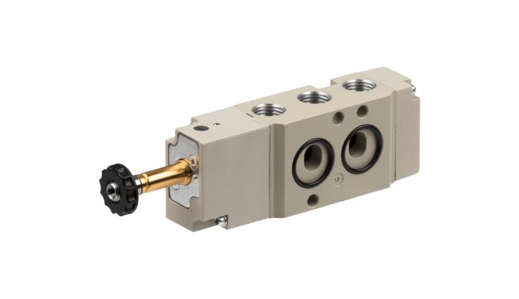 Розподільні клапани з електричним або пневматичним керуванням