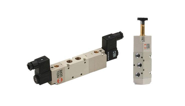 Розподільні клапани з електричним приводом